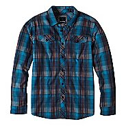 Mens prAna Wessly Long Sleeve Non-Technical Tops