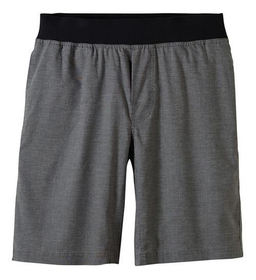Mens prAna Vaha Lined Shorts - Green M