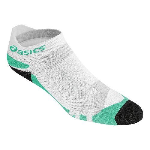 ASICS Kayano Single Tab 3 Pack Socks - White/Aqua Mint S
