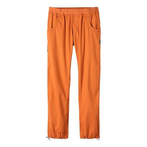 Mens prAna Zander Pants - Orange L