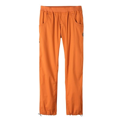 Mens prAna Zander Pants - Orange XXL
