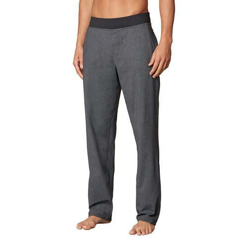 Mens prAna Wyler Pants - Black/Black S