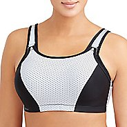 Womens Glamorise Sport Adjustable Wire B/C Sports Bras