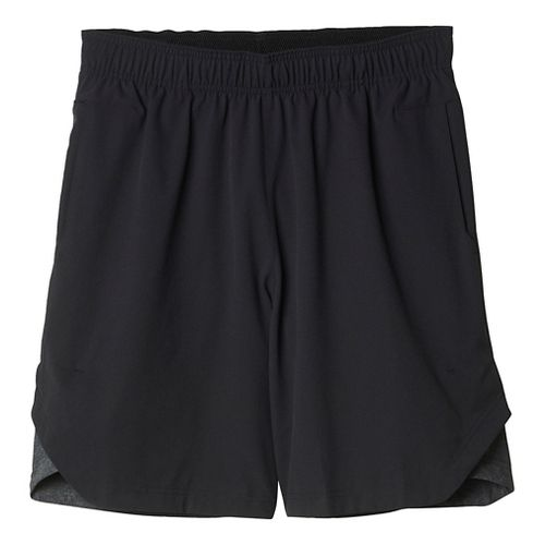 Mens Adidas Athletic ID Unlined Shorts - Black XL