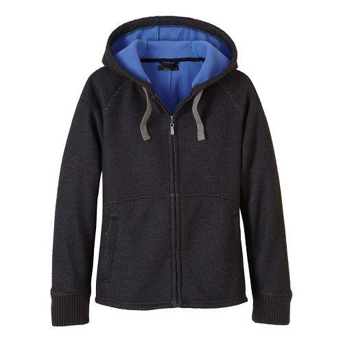Womens prAna Akita Cold Weather Jackets - Black XS