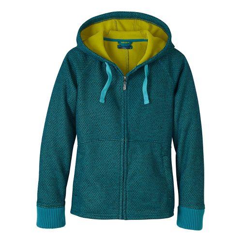 Womens prAna Akita Cold Weather Jackets - Green L