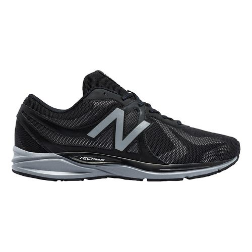 Mens New Balance 580v5 Running Shoe - Black/Steel 9
