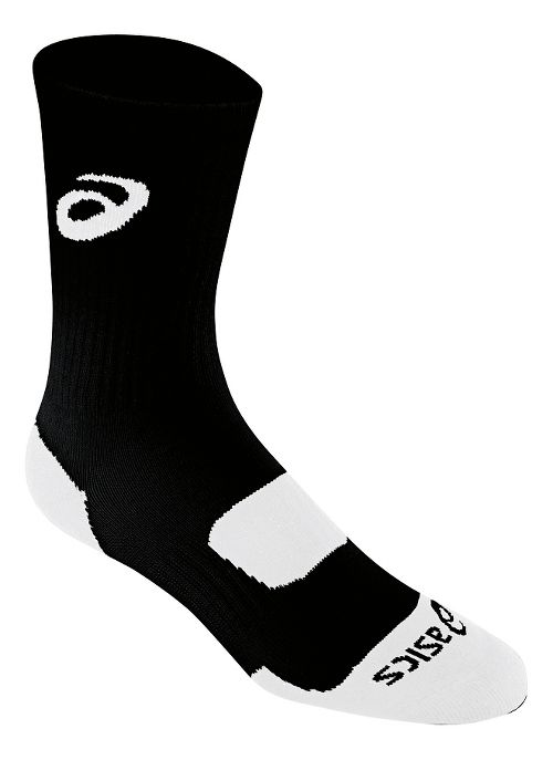 ASICS Team Performance Crew Sock 3 Pack Socks - Black L