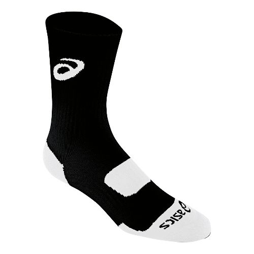 ASICS Team Performance Crew Sock 3 Pack Socks - Black L
