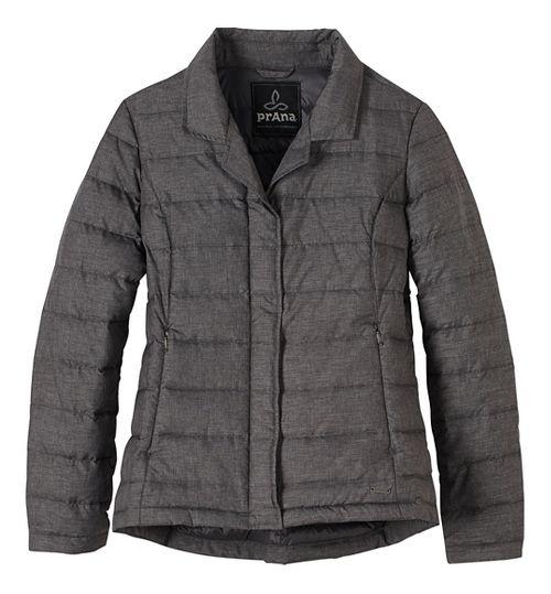 Womens prAna Dawn Blazer Long Sleeve Jackets - Black XL