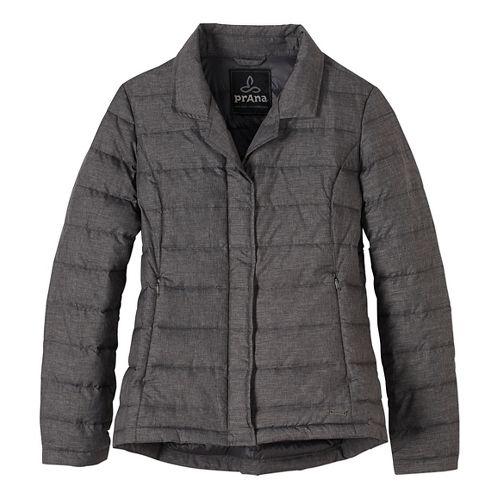 Womens prAna Dawn Blazer Long Sleeve Jackets - Black XS