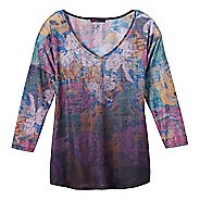 Womens prAna Botanical Long Sleeve Non-Technical Tops