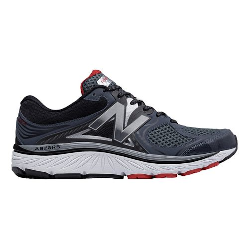 Mens New Balance 940v3 Running Shoe - Black/Red 10
