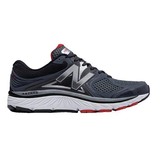 Mens New Balance 940v3 Running Shoe - Black/Red 9.5