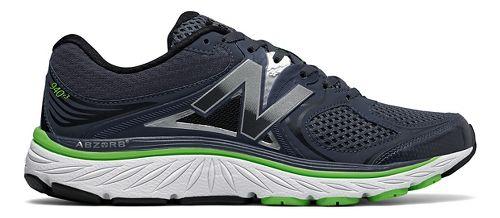 Mens New Balance 940v3 Running Shoe - Thunder/Lime 10.5