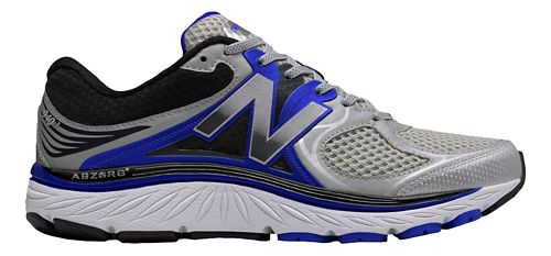 Mens New Balance 940v3 Running Shoe - Silver/Blue 10