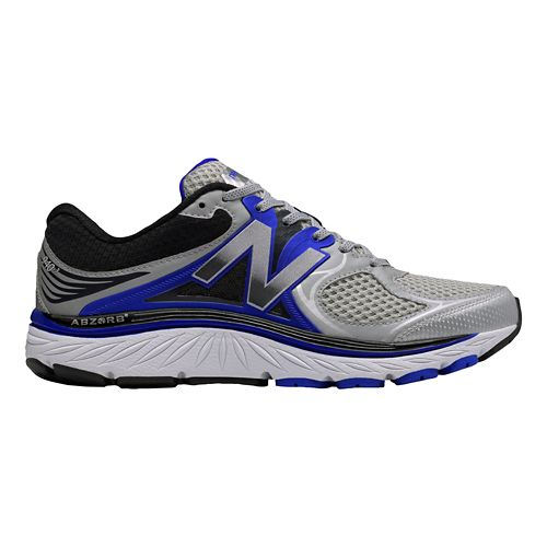 Mens New Balance 940v3 Running Shoe - Silver/Blue 10