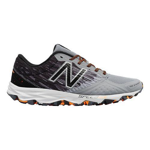 Mens New Balance T690v2 Trail Running Shoe - Gunmetal/Black 10.5