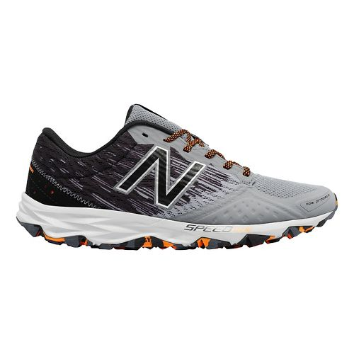 Mens New Balance T690v2 Trail Running Shoe - Gunmetal/Black 7.5