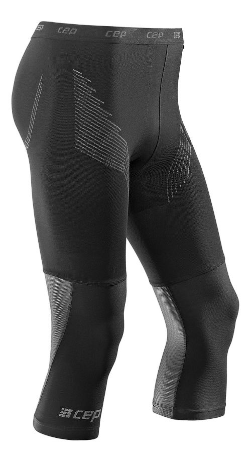 Mens CEP Dynamic+ Run 3/4 2.0 Tights & Leggings Pants - Black S