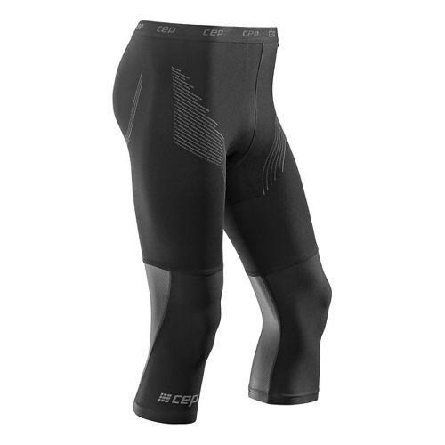 Mens CEP Dynamic+ Run 3/4 2.0 Tights & Leggings Pants - Black XXL