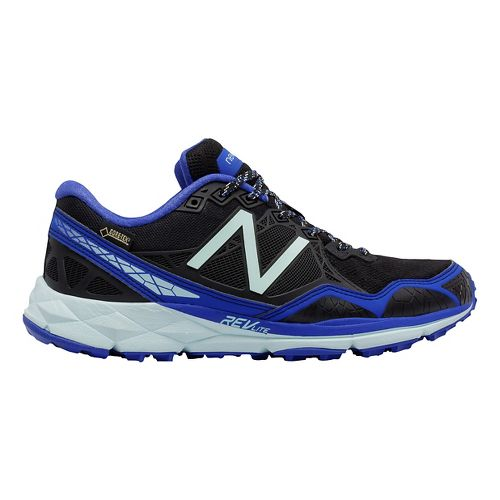 Womens New Balance 910v3 Gore-Tex Trail Running Shoe - Fin/Black 7.5