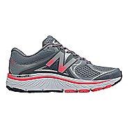 Womens New Balance 940v3 Running Shoe - Grey/Pink 9.5