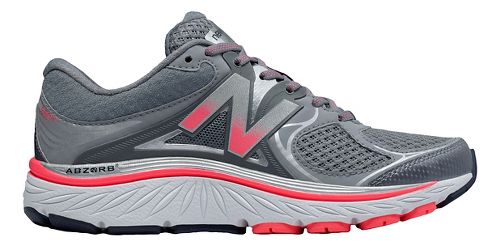 Womens New Balance 940v3 Running Shoe - Grey/Pink 10.5