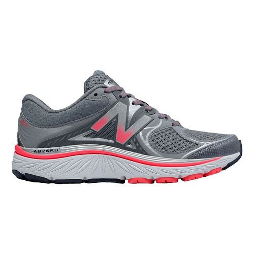 Womens New Balance 940v3 Running Shoe - Grey/Pink 7.5