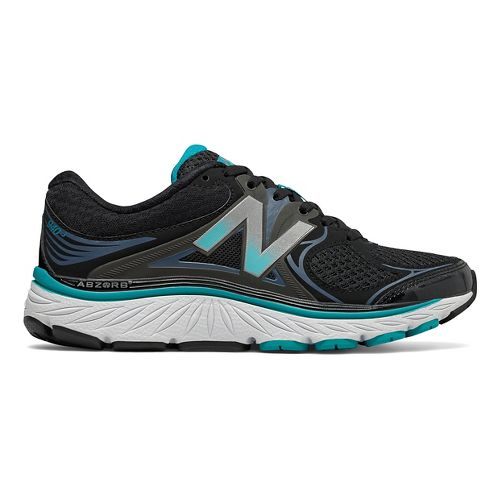 Womens New Balance 940v3 Running Shoe - Black/Pisces 7.5
