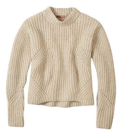 Womens prAna Cedric Sweater Long Sleeve Non-Technical Tops - Beige L