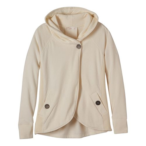 Womens prAna Darby Cold Weather Jackets - White L