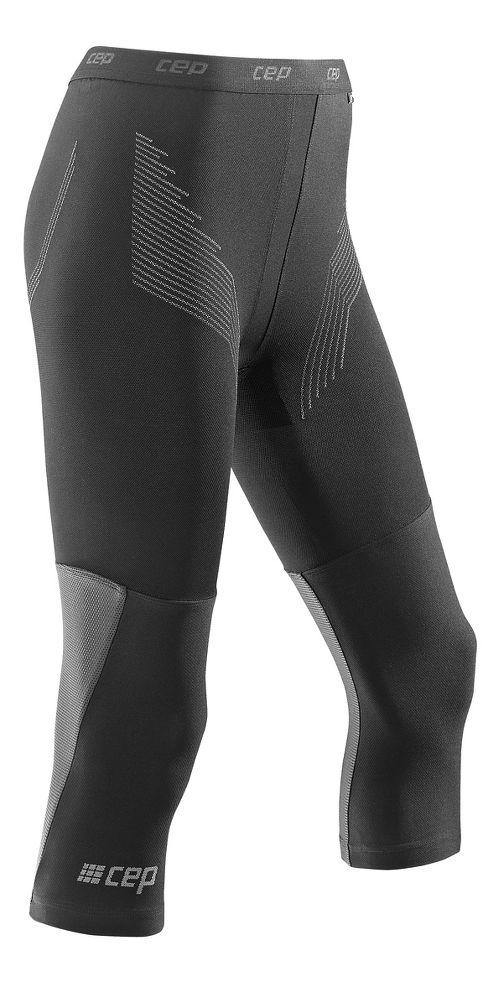 Womens CEP Dynamic+ Run 3/4 2.0 Tights & Leggings Pants - Black S