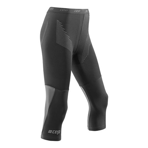 Womens CEP Dynamic+ Run 3/4 2.0 Tights & Leggings Pants - Black XXL