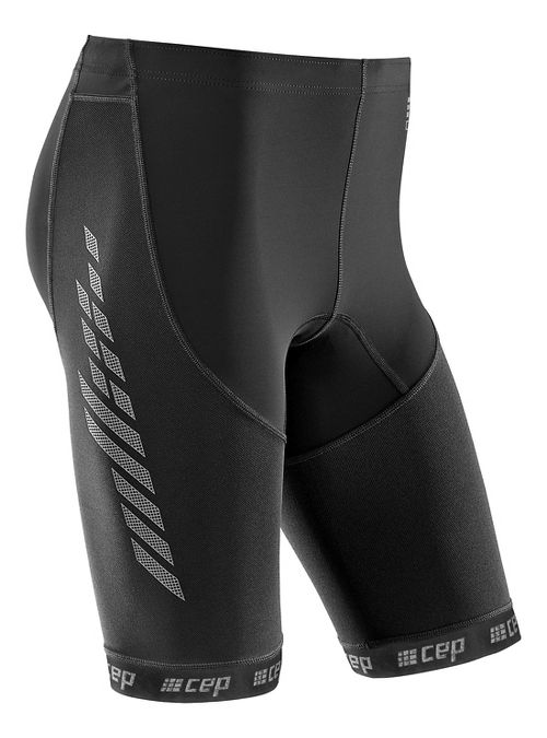 Womens CEP Dynamic+ Run 2.0 Compression & Fitted Shorts - Black XS