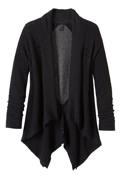 Diamond Sweater Cardi Long Sleeve Non-Technical Tops - Black XL