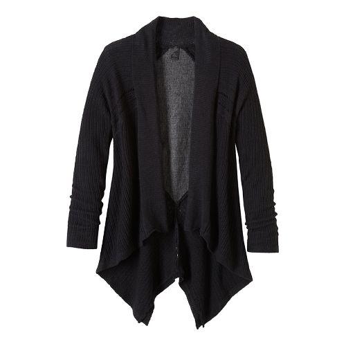 Diamond Sweater Cardi Long Sleeve Non-Technical Tops - Black L