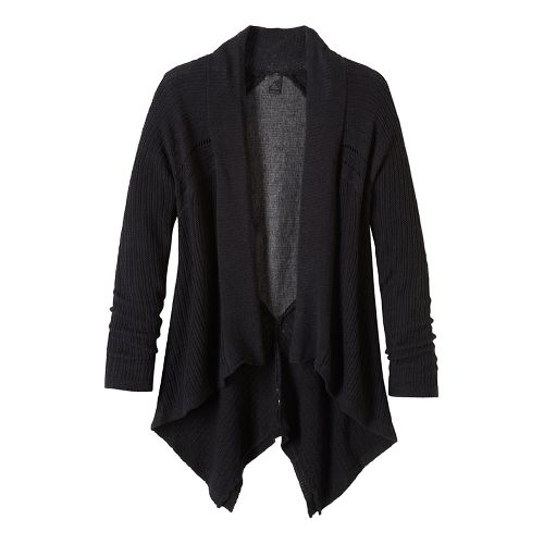 Diamond Sweater Cardi Long Sleeve Non-Technical Tops - Black S
