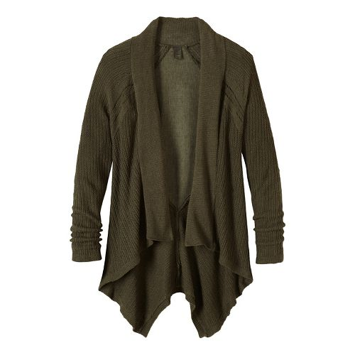Diamond Sweater Cardi Long Sleeve Non-Technical Tops - Green L