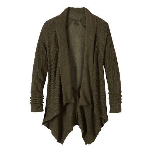 Diamond Sweater Cardi Long Sleeve Non-Technical Tops - Green M
