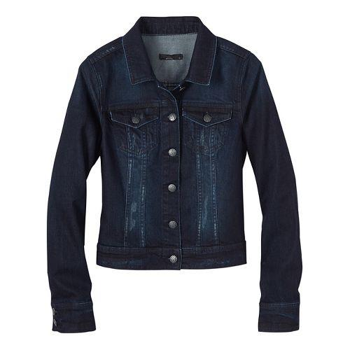 Womens prAna Dree Cold Weather Jackets - Blue L