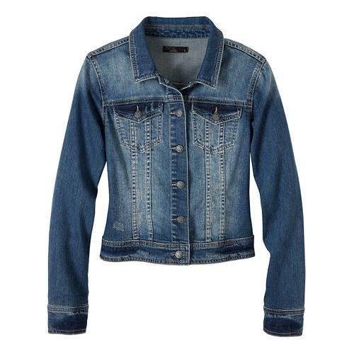 Womens prAna Dree Cold Weather Jackets - Green XL
