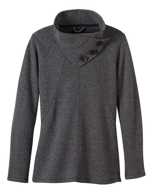 Womens prAna Ebba Sweater Cold Weather Jackets - Grey XS
