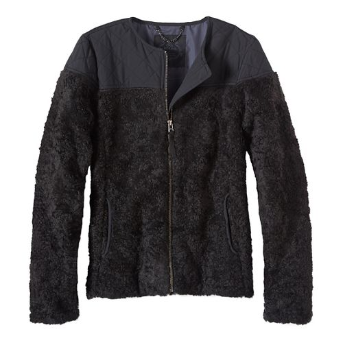 Womens prAna Good Lux Cold Weather Jackets - Black M