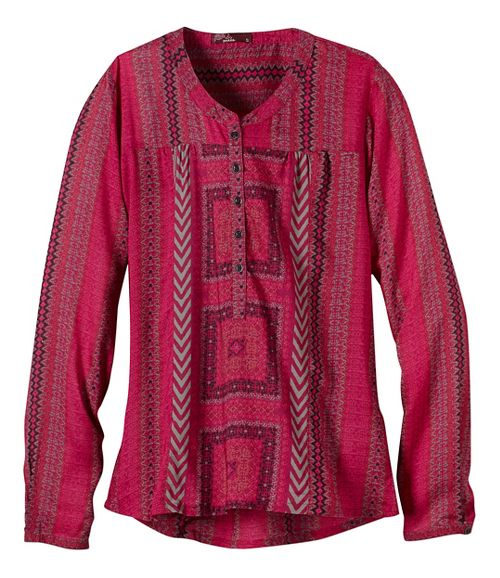 Womens prAna Inka Technical Tops - Purple XL