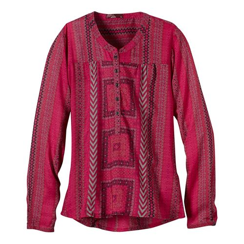 Womens prAna Inka Technical Tops - Purple XS