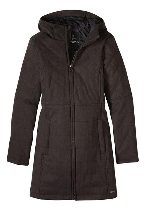 Womens prAna Inna Cold Weather Jackets - Black L
