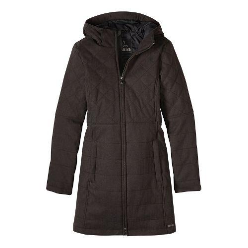 Womens prAna Inna Cold Weather Jackets - Black XL