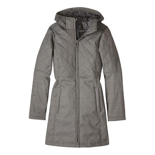 Womens prAna Inna Cold Weather Jackets - Beige XL