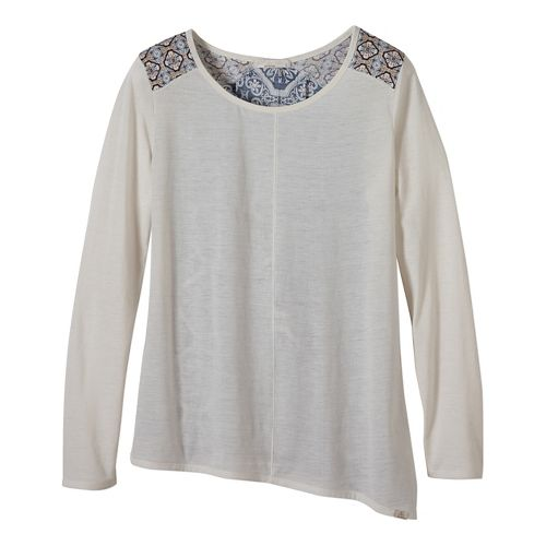 Womens prAna Jivani Non-Technical Tops - White L